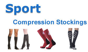 Sports Compression Stockings Image