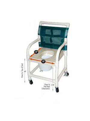 Healthline Shower/Commode Chairs (120)