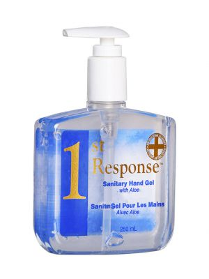 1ST Response® Gel - 250ml Pump Bottle - 70% Alcohol