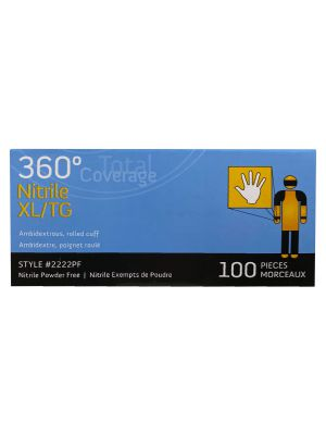360 Total Coverage Nitrile - 100 per Box