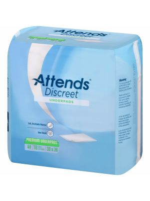 Attends Discreet Premium Underpads