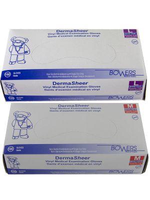 Bower's Vinyl Gloves - 100/box
