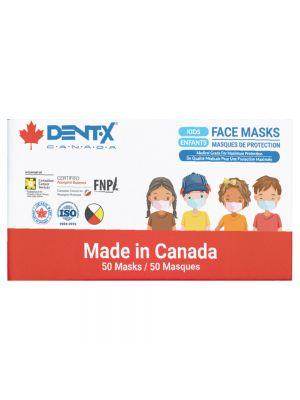 Dent-X Kids Face Masks - Level 3 - 50 Masks / Box