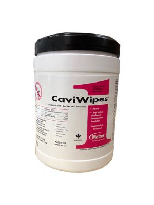Caviwipes Disinfectant Wipes - 160 Wipes