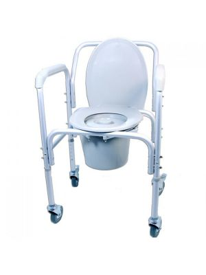 Economy Wheeled commode