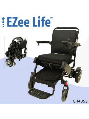 2G EZee Fold Elite Electric Wheelchair w/ 10