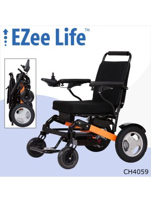 2G EZee Fold Pro Electric Wheelchair w/ 12