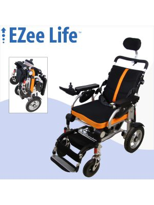 3G Platinum Folding Electric Wheelchair w/ Reclining Back - CH4088
