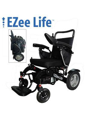 6G EZee Fold Electric Wheelchair - Aluminum Frame