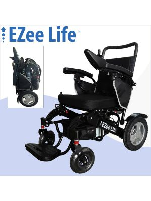 6G EZee Fold Electric Wheelchair - Aluminum Frame