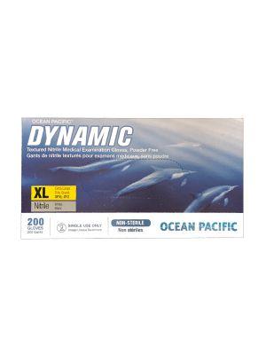Dynamic Nitrile Exam Gloves – XL - 200 / Box