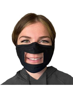 See-Thru Face Mask - 3 Packs