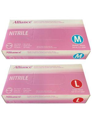 Alliance-Nitrile-exam-gloves - 100 / box