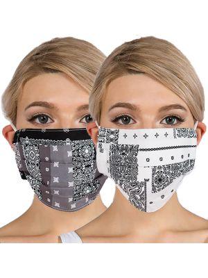 Bandana Masks with Filter Pockets