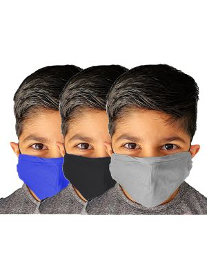 Children's 2-Ply Cotton Masks - Three Packs