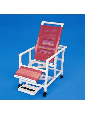 Healthline Reclining Shower Commode Chair (CS400W4)