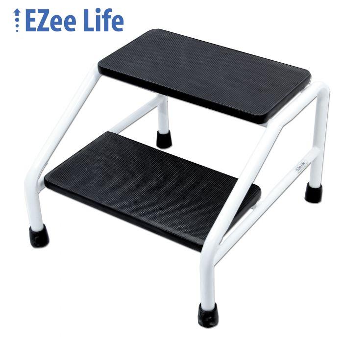 Brilliant Ezee Life Two Step Stool Ch3058 Inzonedesignstudio Interior Chair Design Inzonedesignstudiocom